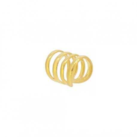 Ear cuff 4 aritos oro
