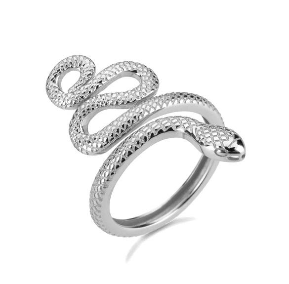 Anillo Anaconda plata