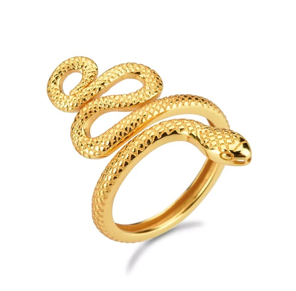 Anillo Anaconda oro
