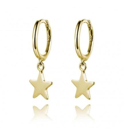 Aro + Estrella oro liso (CLIP)